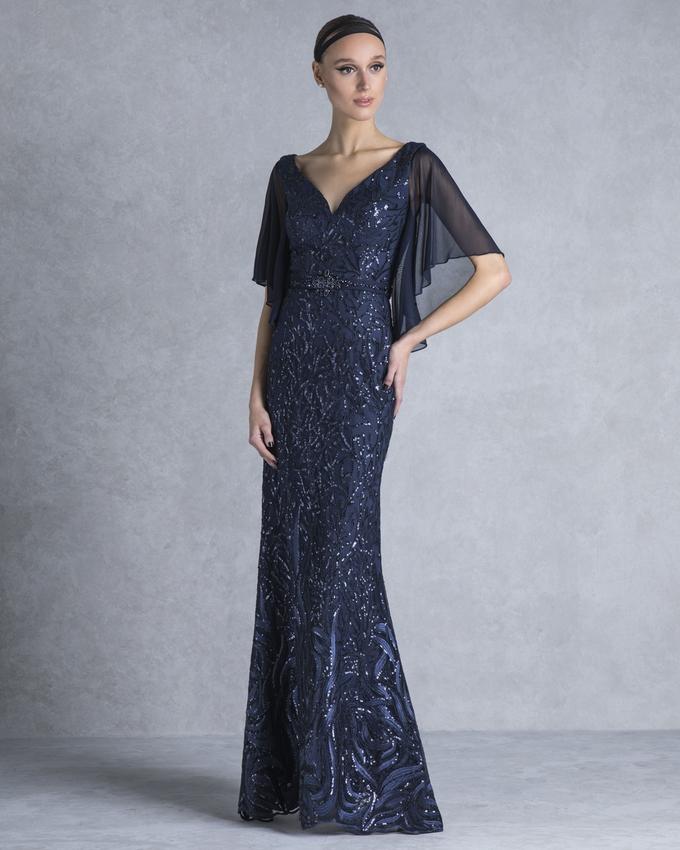 db37aad04bd9 Βραδινό φόρεμα μακρύ με δαντέλα