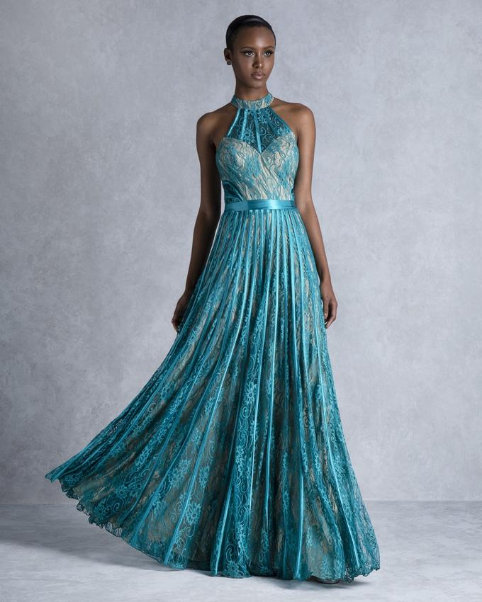 24d557c5082 Βραδινό φόρεμα μακρύ από δαντέλα