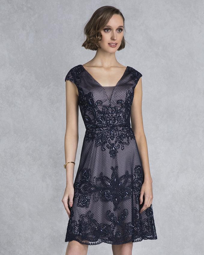 6cb3723fa99 Κοκτέιλ φόρεμα κοντό με δαντέλα