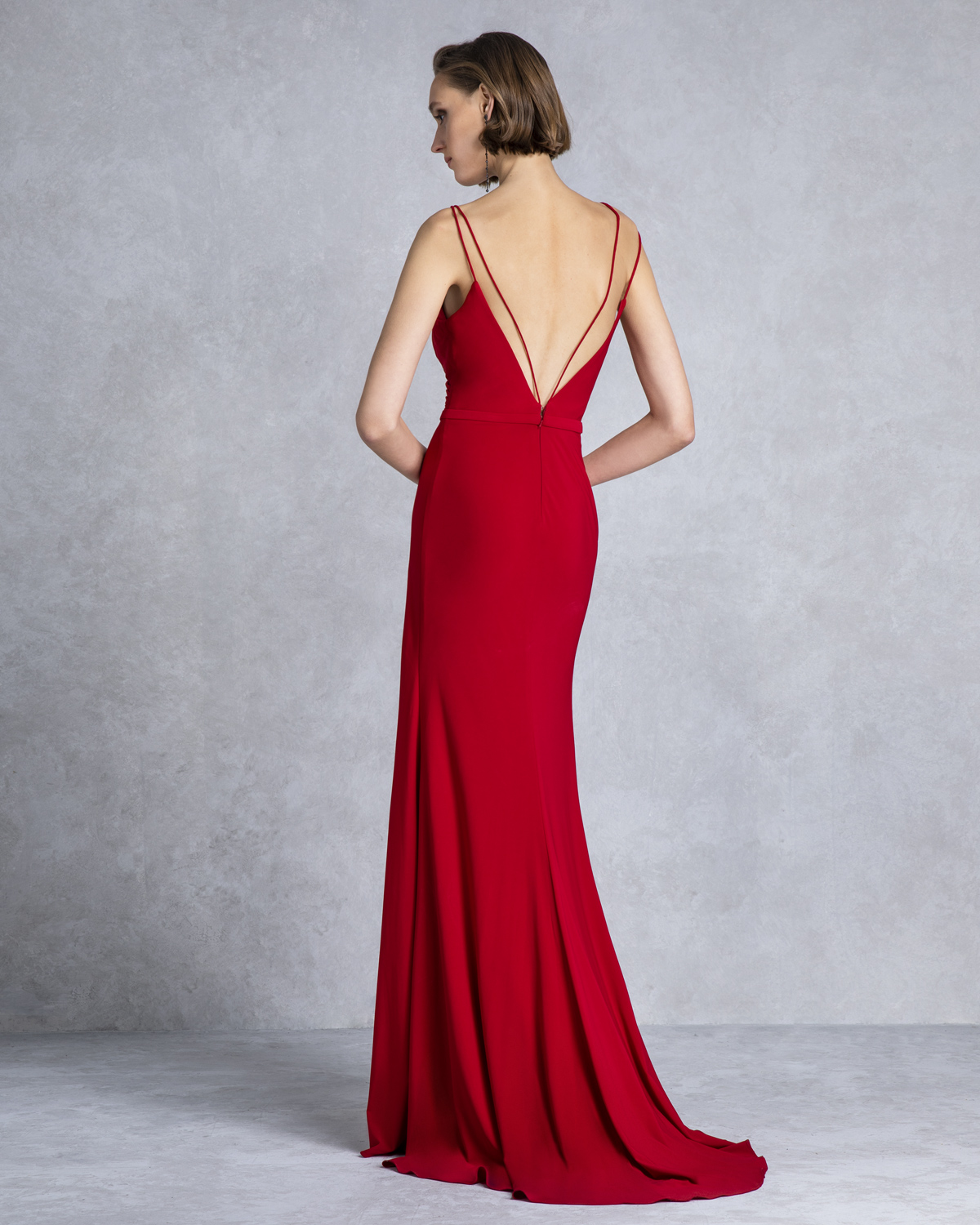 Cocktail Dresses / Long evening dress with opening