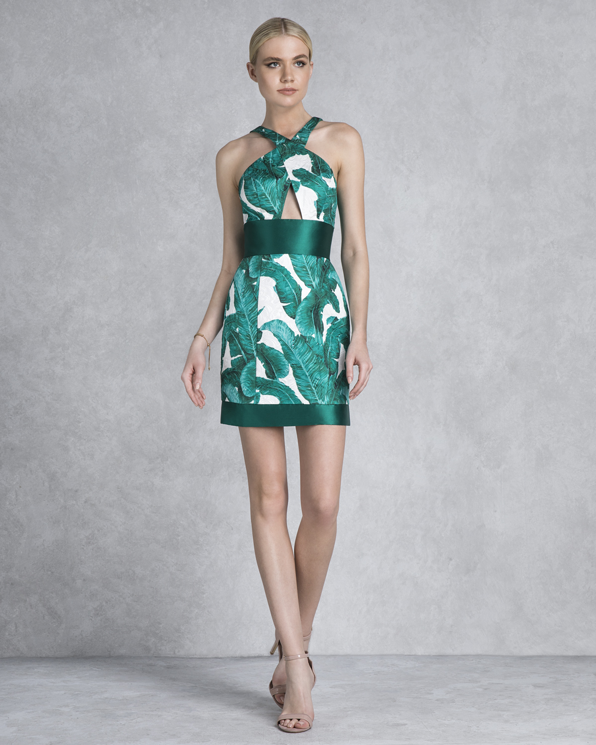 Cocktail Dresses / Cocktail short printed dress