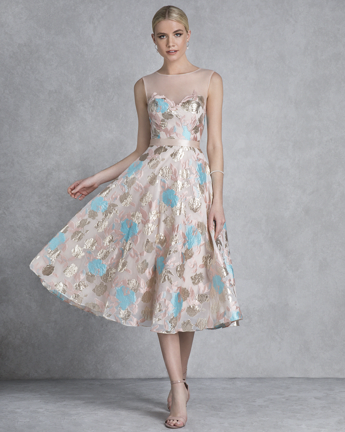 Cocktail Dresses / Cocktail printed dress