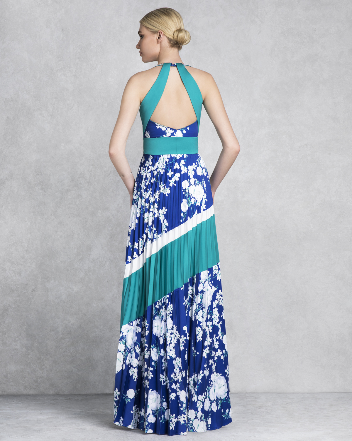 Cocktail Dresses / Long evening printed dress